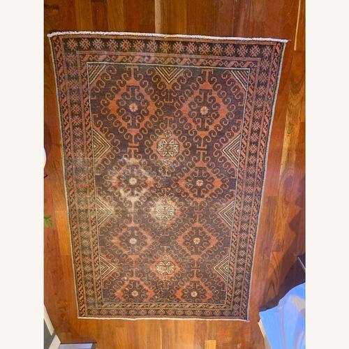 Used Pink Persian Rug for sale on AptDeco