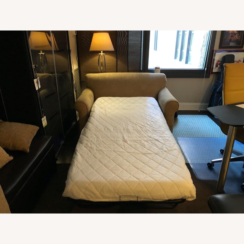 Raymour & Flanigan Sleeper Loveseat Sofa - image-2