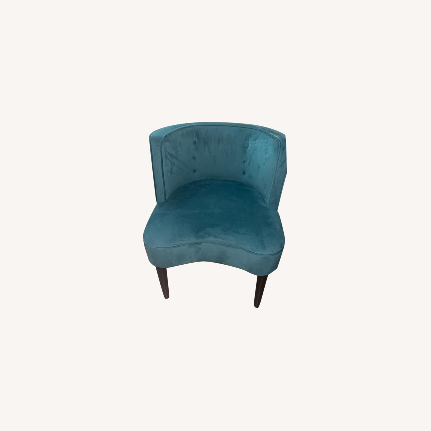 Target Teal Velvet Accent Chairs - image-0