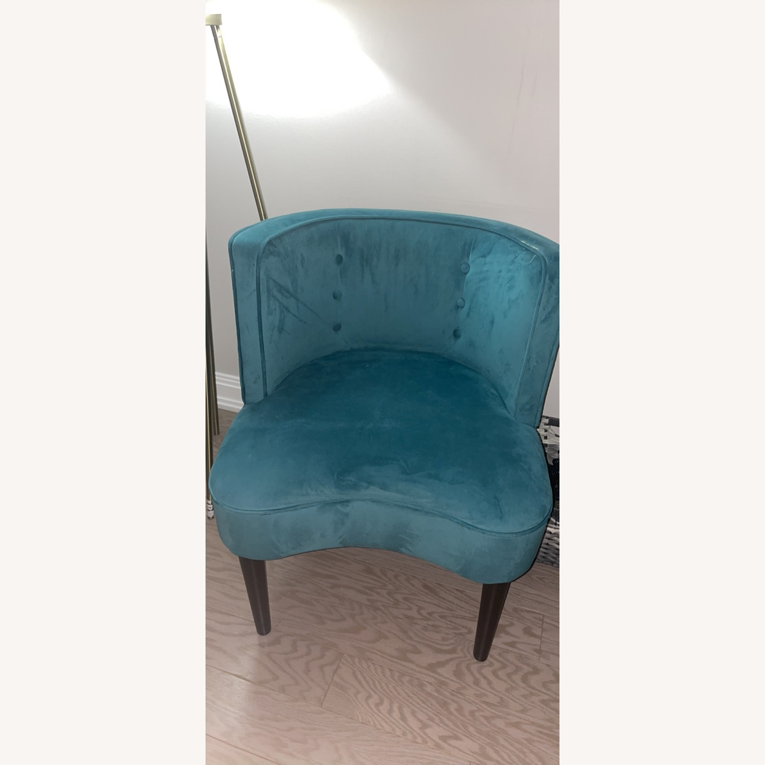 Target Teal Velvet Accent Chairs - image-4