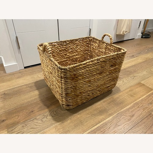 Used Rattan Basket for sale on AptDeco
