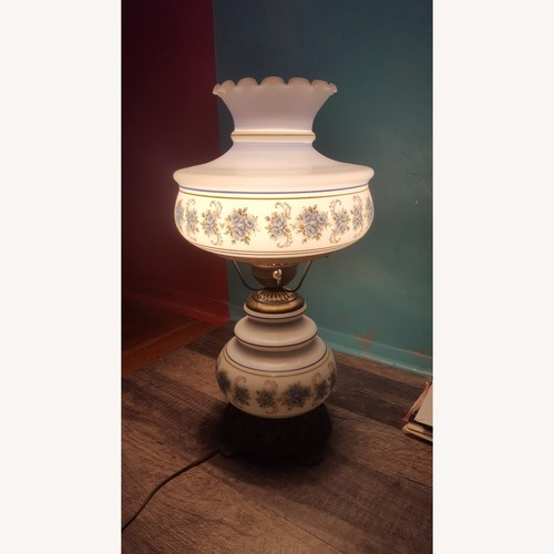 Used Vintage Hurricane Lamp for sale on AptDeco