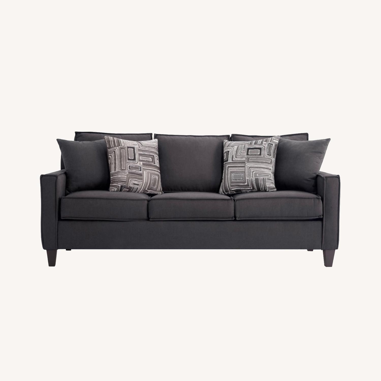 Bobs 72inch Jessie Sleeper Sofa w/ Ottoman - image-0