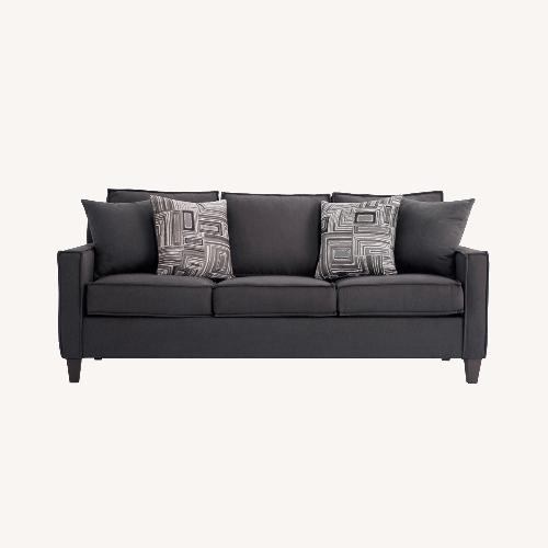 Used Bobs 72inch Jessie Sleeper Sofa w/ Ottoman for sale on AptDeco