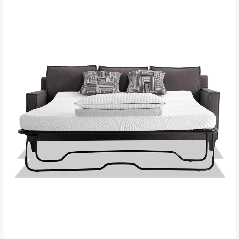 Bobs 72inch Jessie Sleeper Sofa w/ Ottoman - image-2
