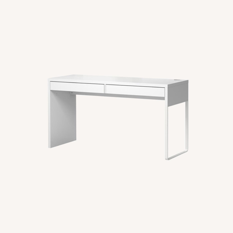 IKEA Micke Desk in White - image-0