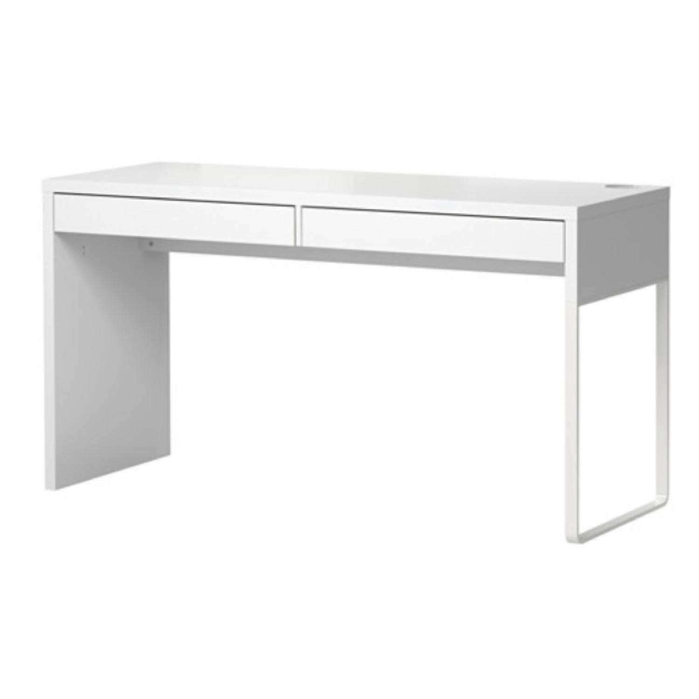 IKEA Micke Desk in White - image-1