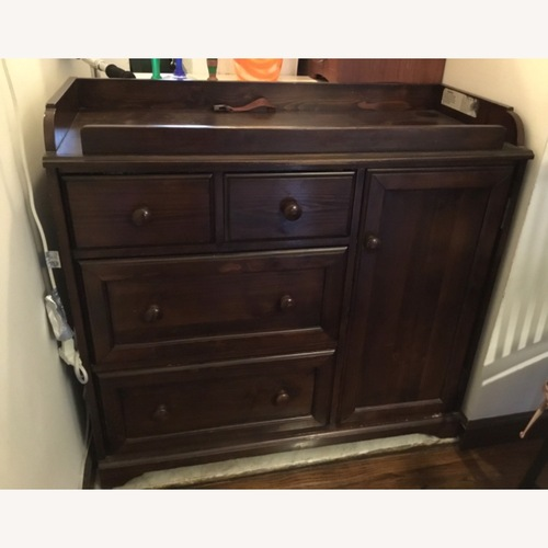 Used Pottery Barn Changing table/chest for sale on AptDeco