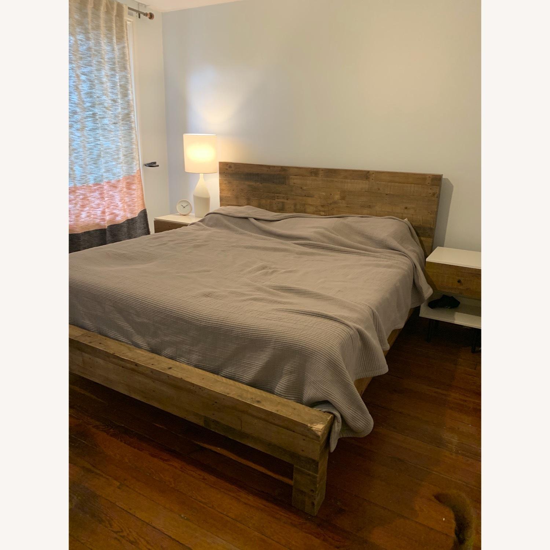 West Elm Emmerson Reclaimed King Bed - image-1