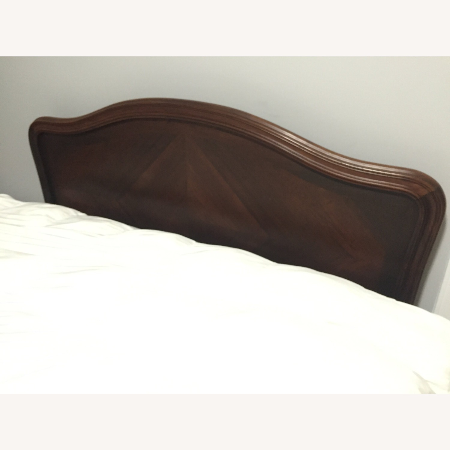 1880's Antique French Rosewood Bed - image-4