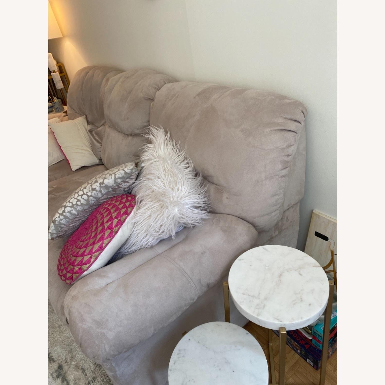 Art Van Beige Sleeper Sofa - image-3