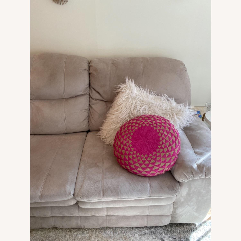 Art Van Beige Sleeper Sofa - image-2