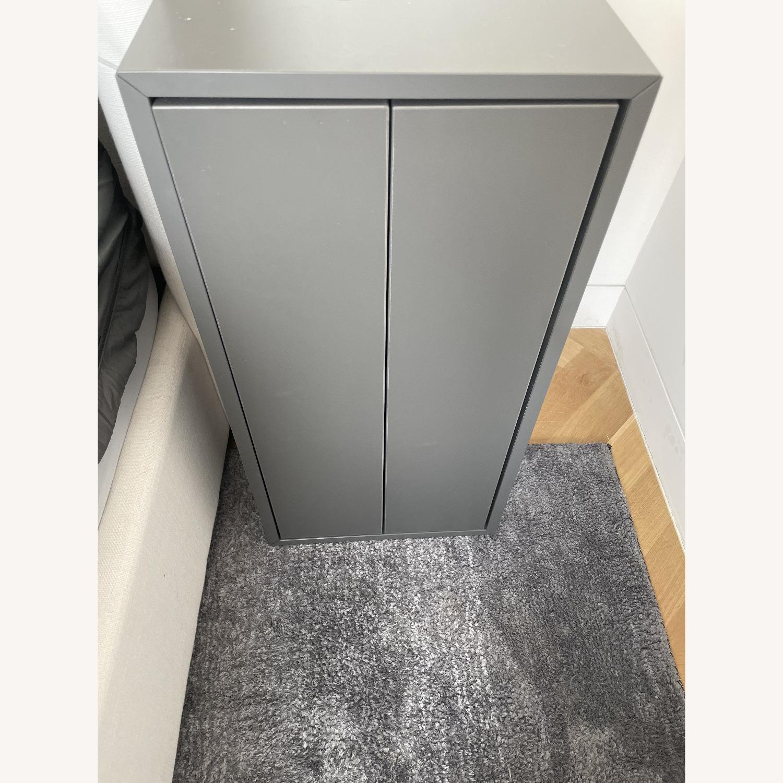 IKEA Eket 2 Drawer Gray Cabinets - Set of 2 - image-4