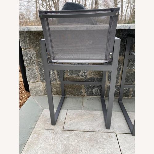 Used Restoration Hardware Aegean Barstools set of 3 for sale on AptDeco