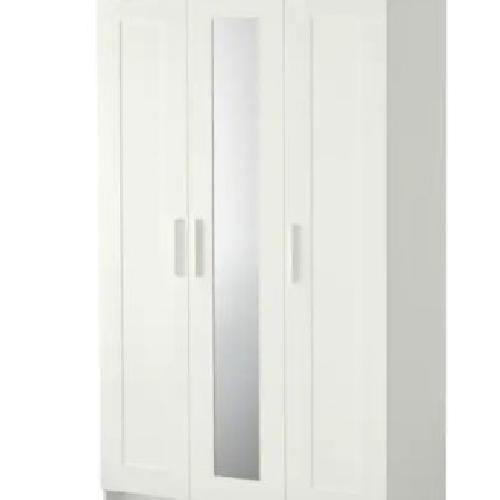 Used IKEA Brimnes 3 Doors Wardrobe for sale on AptDeco