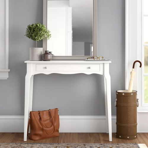 Used Wayfair White Console or Entryway Table for sale on AptDeco