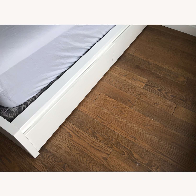 IKEA Malm High White Bed Frame - image-6