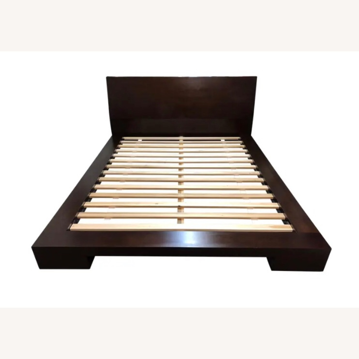 Crate and Barrel Queen Asher Bed - image-4