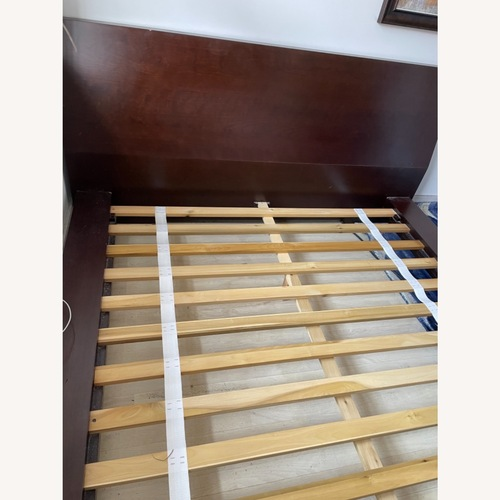 Used Crate and Barrel Queen Asher Bed for sale on AptDeco
