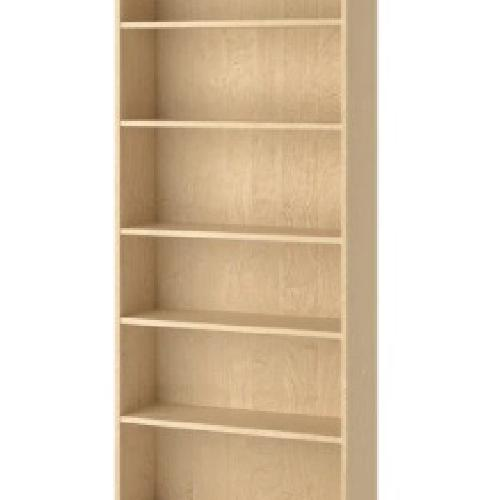 Used IKEA Large 6 Shelves Wooden  Bookcase for sale on AptDeco
