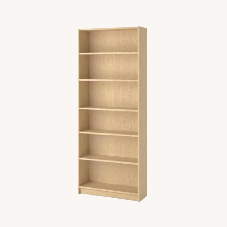 IKEA Large 6 Shelves Wooden  Bookcase - image-0