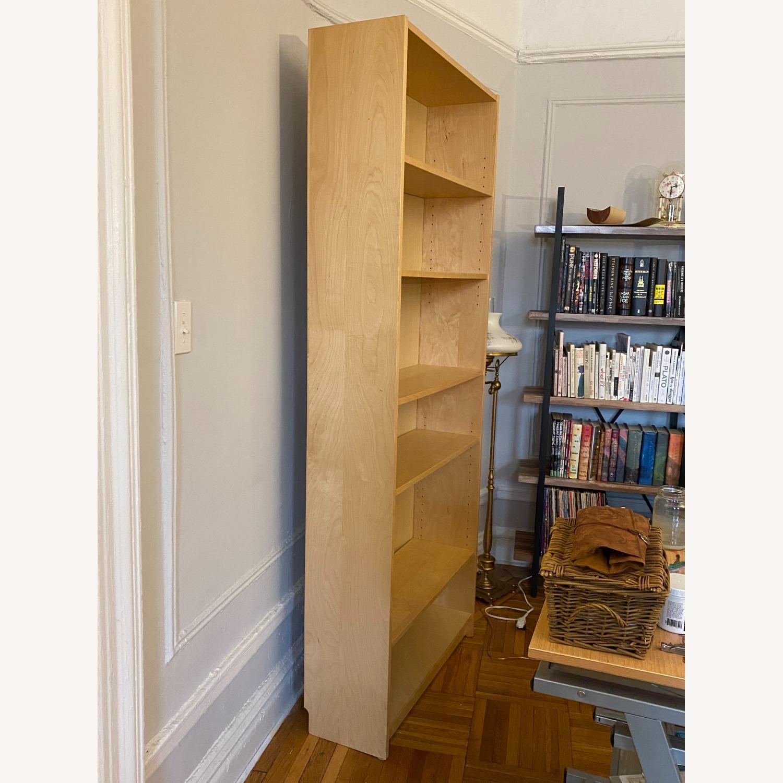 IKEA Large 6 Shelves Wooden  Bookcase - image-3