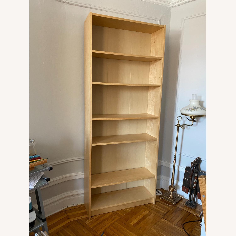 IKEA Large 6 Shelves Wooden  Bookcase - image-1
