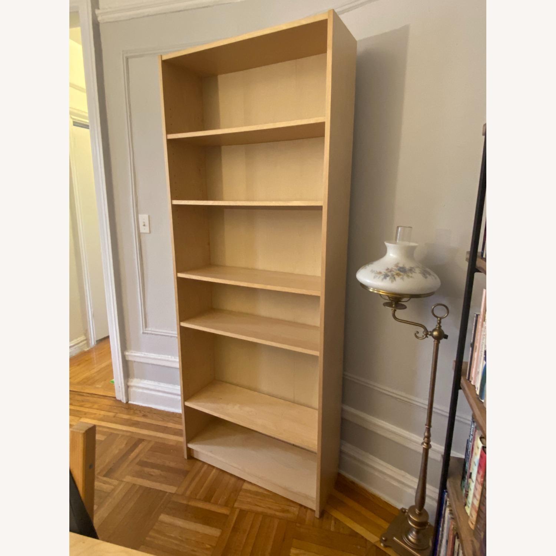 IKEA Large 6 Shelves Wooden  Bookcase - image-5