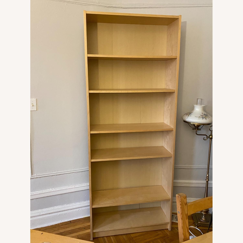 IKEA Large 6 Shelves Wooden  Bookcase - image-4