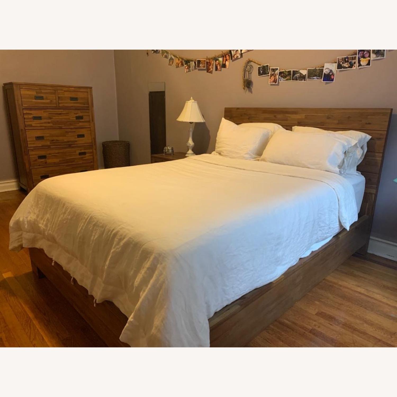 Macys Champagne Queen Bed - image-4