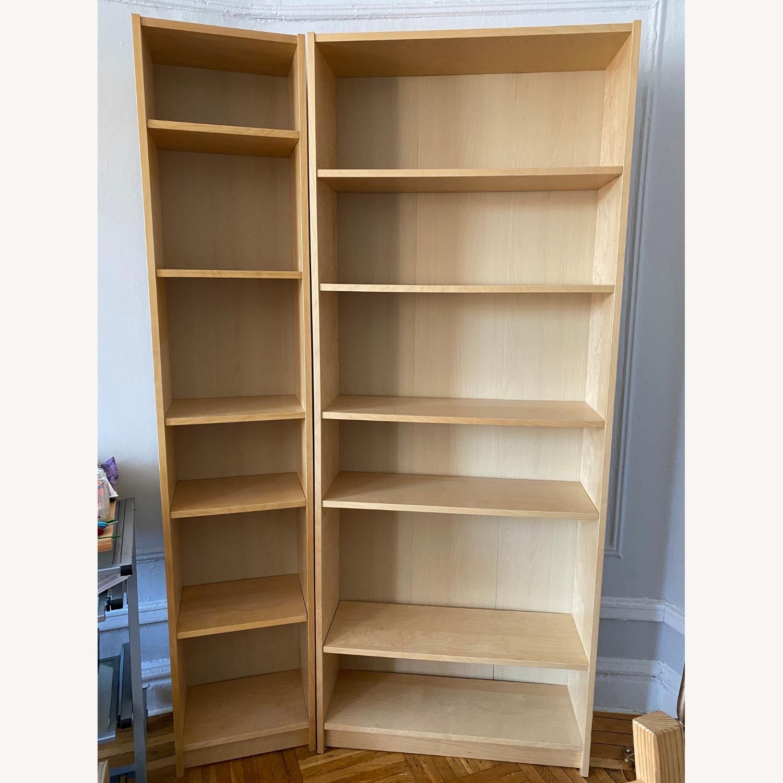 IKEA Backless Wooden Bookcase, 5 shelves - image-3