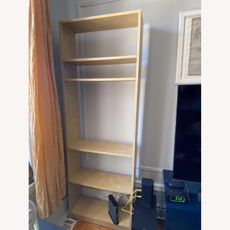 IKEA Backless Wooden Bookcase, 5 shelves - image-1