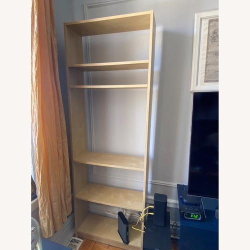 Used IKEA Backless Wooden Bookcase, 5 shelves for sale on AptDeco