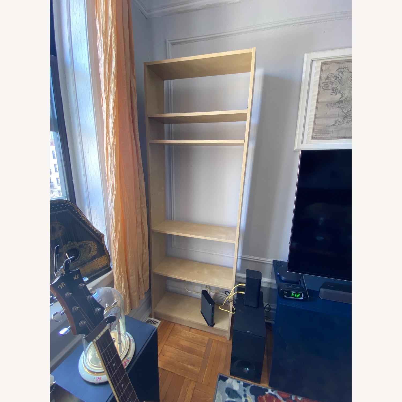 IKEA Backless Wooden Bookcase, 5 shelves - image-2