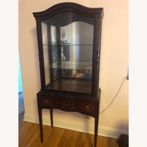 Used Antique 1920s Federal Style China Cabinet for sale on AptDeco