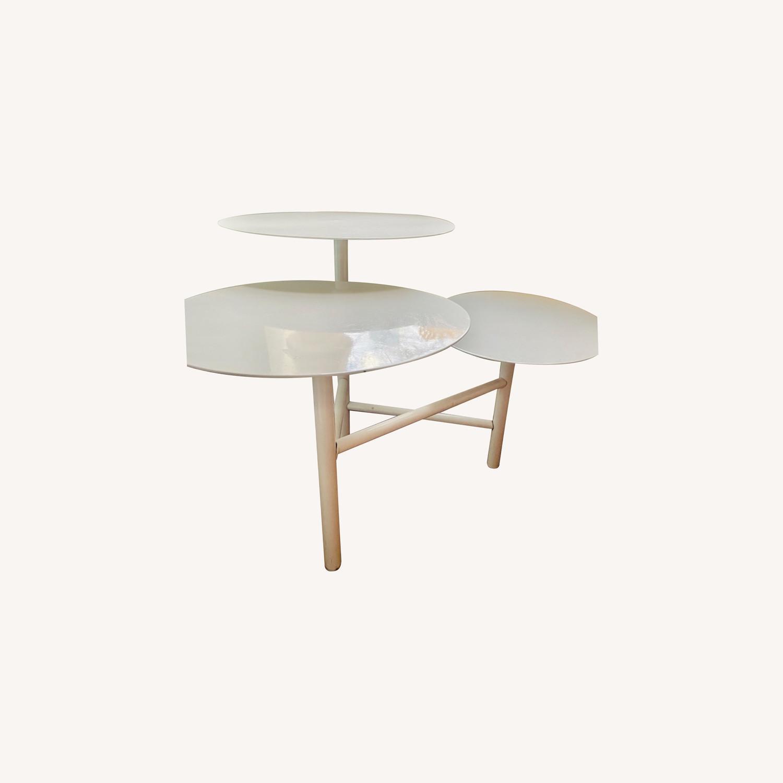 West Elm 3-tier Table - image-0