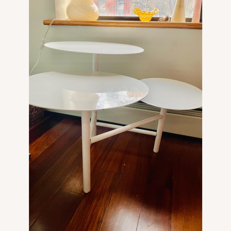 West Elm 3-tier Table - image-1