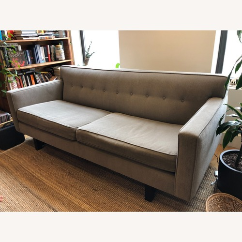 Used Room & Board Grey Andr Sofa for sale on AptDeco