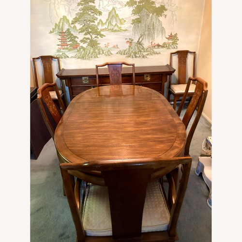 Used Century Furniture Dining Room Set for sale on AptDeco