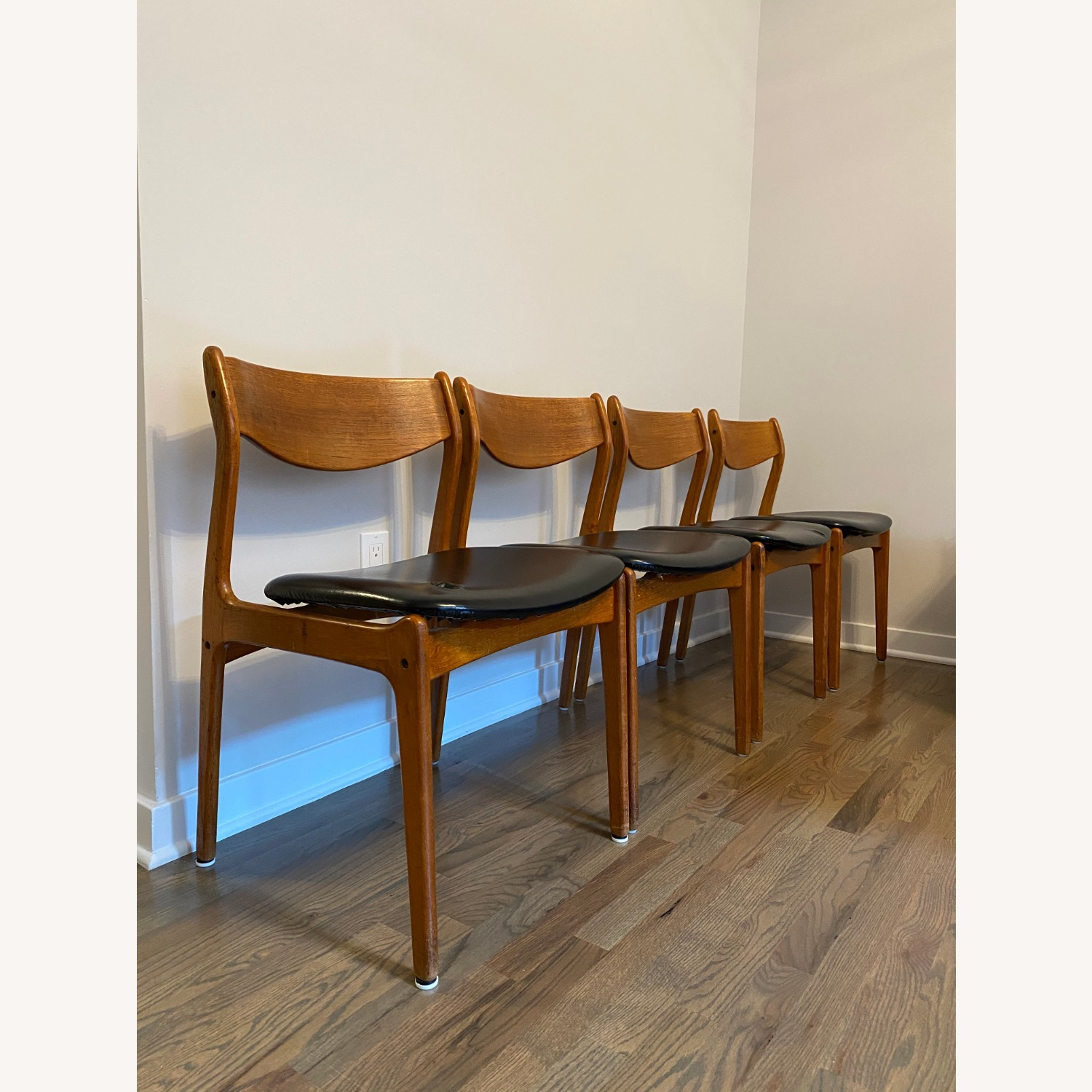 Mid-Century Modern Dining Chairs (set of 4) - image-1