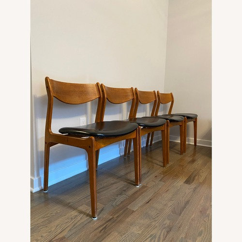 Used Mid-Century Modern Dining Chairs (set of 4) for sale on AptDeco