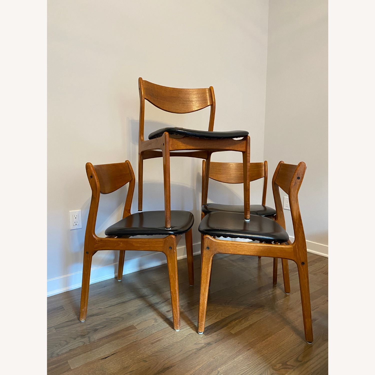 Mid-Century Modern Dining Chairs (set of 4) - image-2