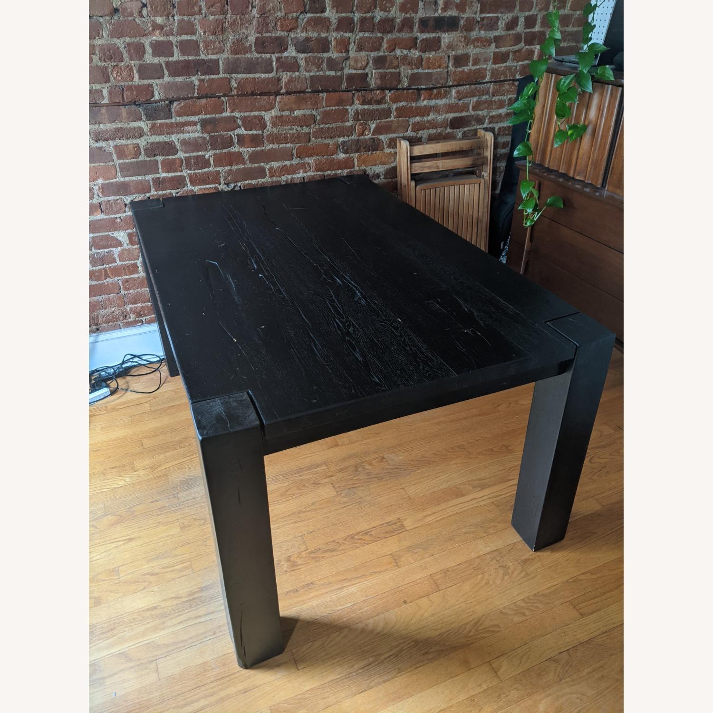Restoration Hardware Reclaimed Oak Dining Table - image-4