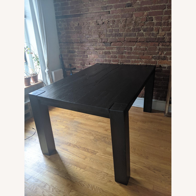 Restoration Hardware Reclaimed Oak Dining Table - image-3