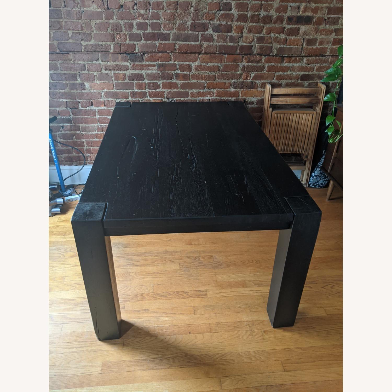 Restoration Hardware Reclaimed Oak Dining Table - image-1