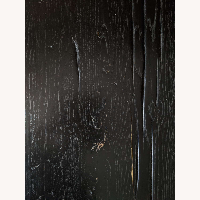 Restoration Hardware Reclaimed Oak Dining Table - image-5