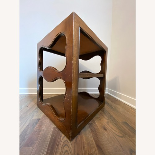 Used Wood End Tables (Pair) for sale on AptDeco