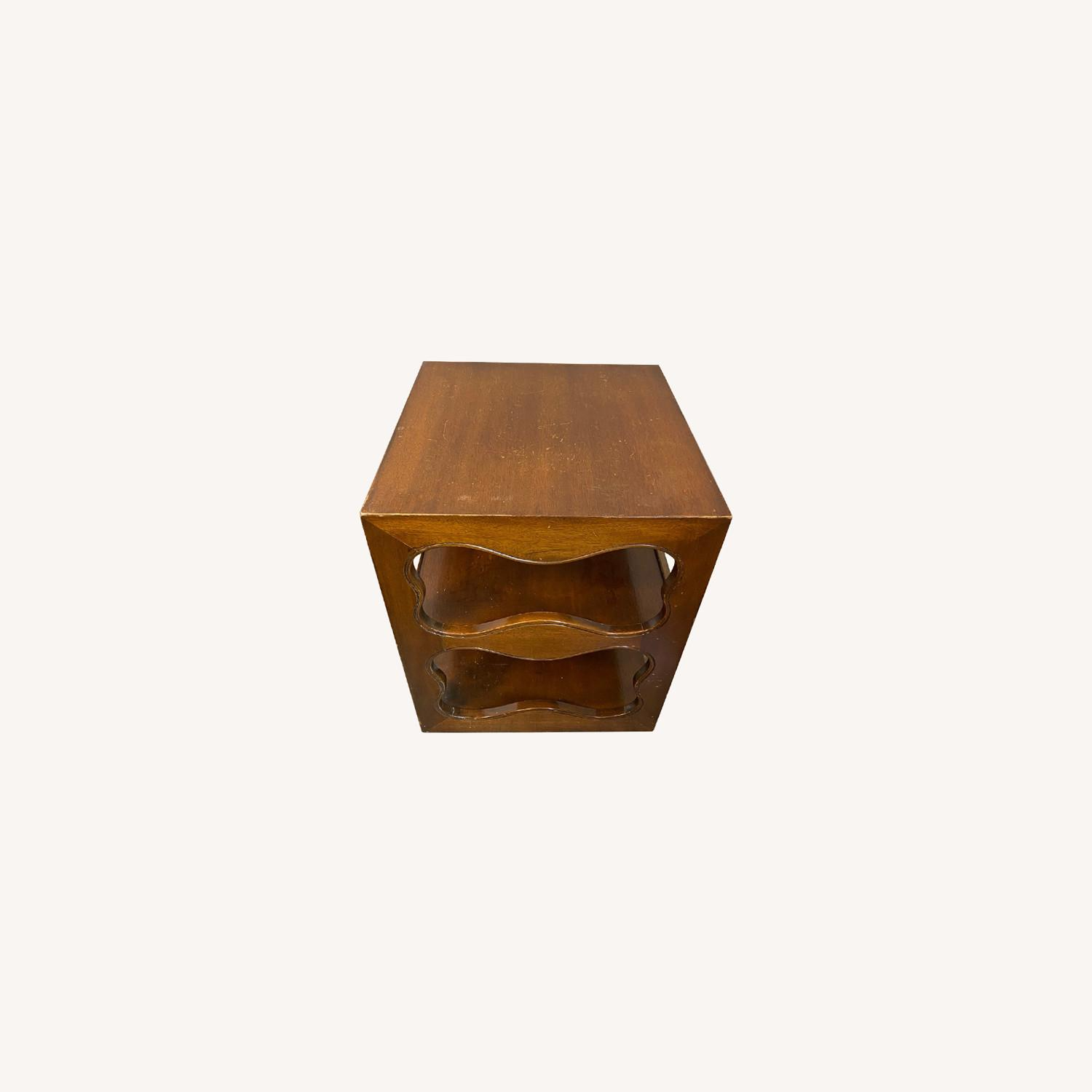 Wood End Tables (Pair) - image-0