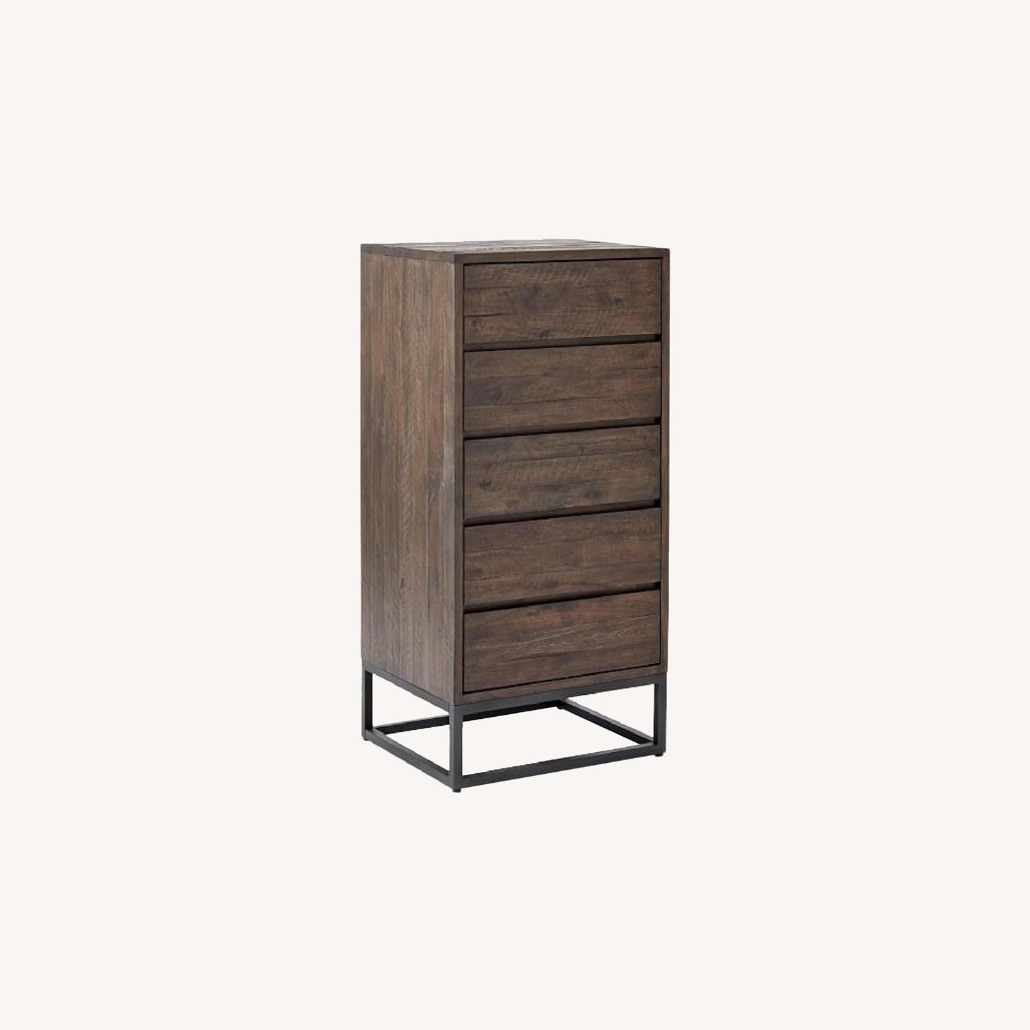 West Elm Logan Industrial 5-Drawer Dresser - image-0