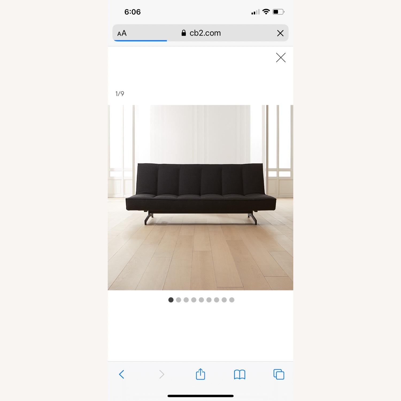CB2 Flex Back Sleeper Sofa - image-1